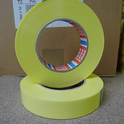 Tesa Tape 4289 no tubes rim tape complete roll 19mm wide x 66 metres long