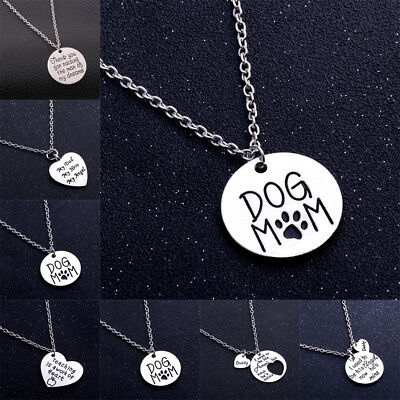 Love Words Pendants Family Fathers Mothers Teachers Gifts Friend Chain Necklace