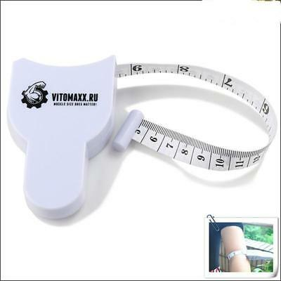 """Fitness Measuring Tape Body Fat Weight Loss Measure Retractable Ruler 60""""150cm=="""