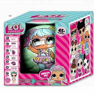 LOL Lil Outrageous 7 Layers Surprise Ball Series 1Poupée Blind Mystery Ball YF
