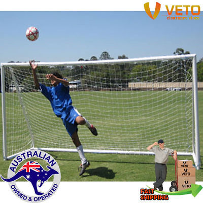 uPVC Soccer Goal 3m x 2m complete with net! (FREE Freight to metro areas)