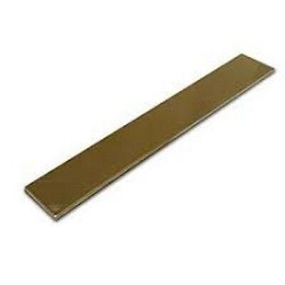 Brass Flat Bar - Various Sizes x 300mm long - Grade C380 / C385