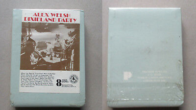 Alex Welsh, Dixieland party, 8 track cartridge Tape Rare sealed