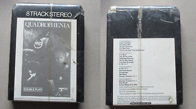 the who quadrophenia 8 track Rare Sealed unplayed Track records