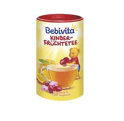 Bebivita Baby Tea. Orange and Cherry 400g  From 12 months