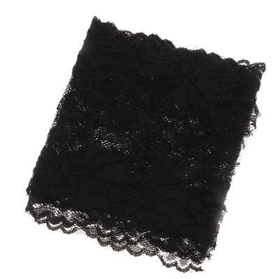 5Yds Black Lace Trim Trimming for Wedding Dress Applique Sewing Craft 15cm