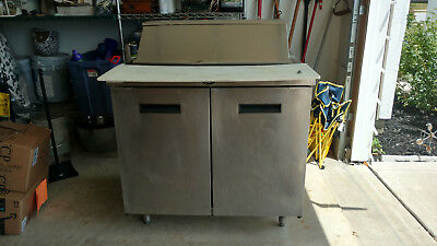 """Commercial Refrigerated Sandwich Prep Table 36"""""""