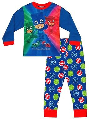 Boys PJ Masks Pyjamas PJ MASKS Pyjama Set Kids Pj PJs 3 to 7 Years