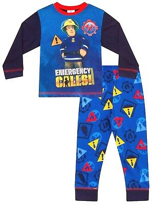 Fireman Sam Pyjamas 2 to 6 Years  Fireman Sam PJ Fireman Sam PJS Pajamas W17