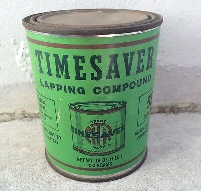 Timesaver Lapping Compound 55 Coarse Steel Cast Iron Bronze Stainless Hard Green