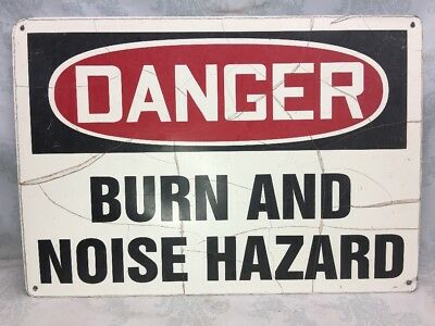 SAFETY SIGNS NOISE Hazard Ear Protection Must Be Worn