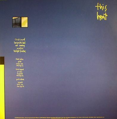 THIS HEAT - This Heat - Vinyl (LP + insert)