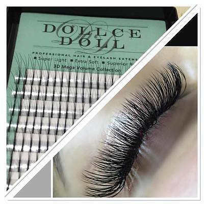 Dollce Doll Premade Russian Volume Lash Fans 3D Semi Permanent Eyelash Extension