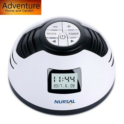 Machine White Noise Sound Sleep Therapy Nature Spa Sounds Peace Relax Natural