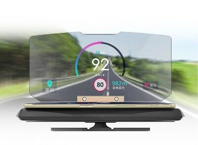 Smartphone HUD Heads Up Display Phone Projector Unit GPS, Speedometer for Car