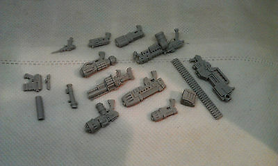 Custom 54mm scale weapons pack (16 pieces) - inquisitor