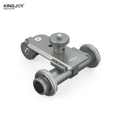 Kingjoy PPL-06 Motorized Electric 3-Wheel Video Pulley Car for phone Camera I2L5