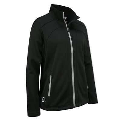 Sunderland Ladies Bonded Fleece with Teflon Finish in Black