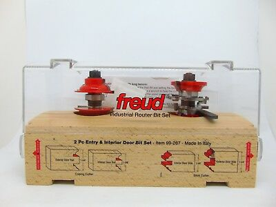 Freud 94 100 5 Piece Cabinet Door Router Bit Set With Wooden Case Cad Picclick Ca