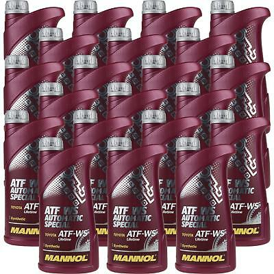 21x1 LITRE GENUINE Mannol ATF WS Automatic Special Transmission Fluid Gear Oil