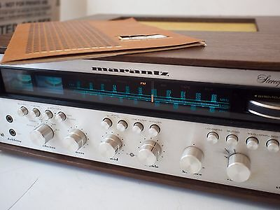Fully Serviced Vintage Marantz 2270 Receiver w/ Manual in Wood Case
