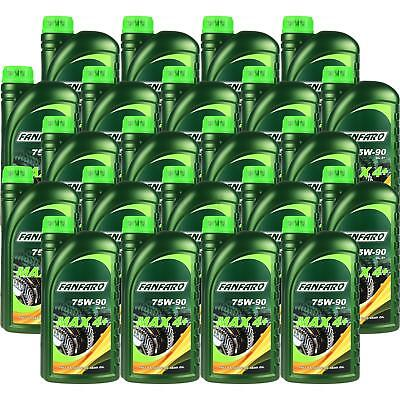 22x1 Litre FANFARO MAX 4+ 75W-90 GL-4+ API Transmission Oil fully synthetic Gear