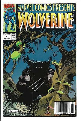 Marvel Comics Presents # 91 (Wolverine & Ghost Rider Flip Book, 1991), Nm