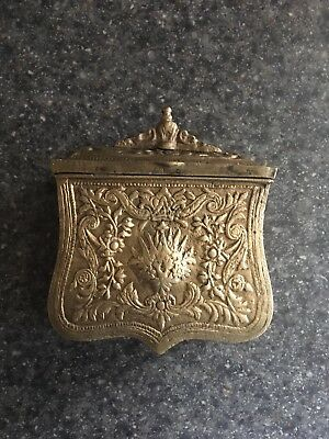 ANTIQUE Ottoman Belt Cartridge Case Palaska Greek folk costume military Albanian
