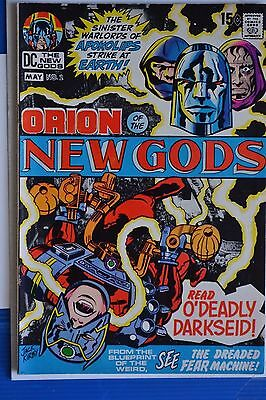 The New Gods # 2 : Fine- : May 1971 : Dc Comics. {Comics Books}