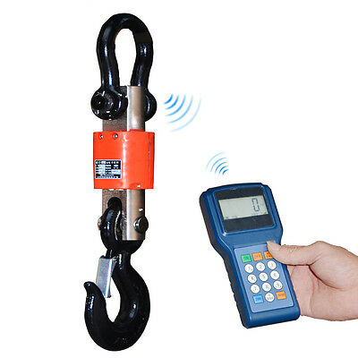 Electronic Wireless Digital Hanging Crane Scale With Handheld Meter 3T/5T/10T