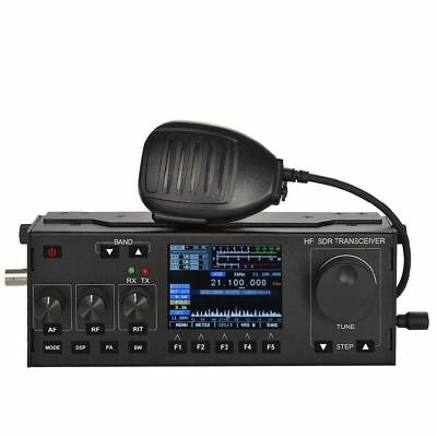 0.5MHz - 30MHz RS-918 HF SDR Transceiver QRP Ham Radio with case