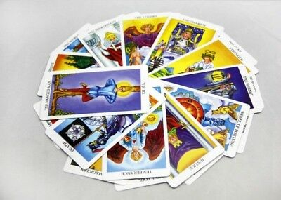 the original rider waite tarot deck complete with instruction booklet