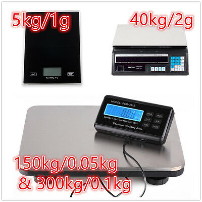 Digital Scales Electronic LCD Balance Weight Scale Kitchen/Shop Postal Computing