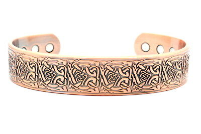 Magnetic New High Quality Copper Bracelet for Arthritis Therapy - Celtic Design
