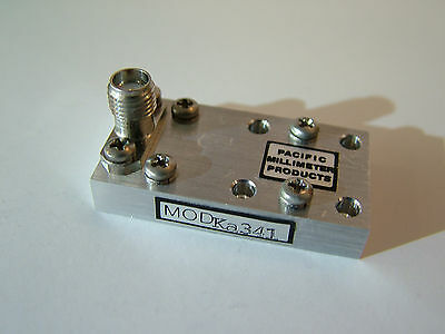 40GHz Frequency Tripler X3 Out 27 - 40GHz WR28 waveguide Out multiplier Ka341