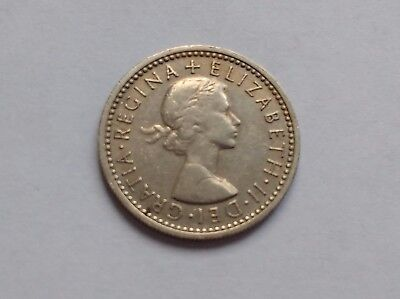 1964 6d SIXPENCE six pence Queen Elizabeth II Coin Lucky Six Pence