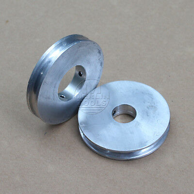 60mm Diameter - 8 to 26mm Bore - V-Groove Flat Pulley - Select Size