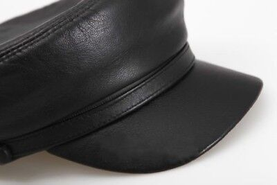 d5510622ab MEN LEATHER MILITARY Driving Sports Flat Cap Cadet Hat - EUR 14,65 ...