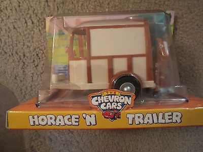 The Chevron Cars  Horace N Trailer Mint In Box