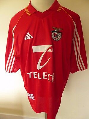 mens vintage BENFICA shirt - size xl good condition