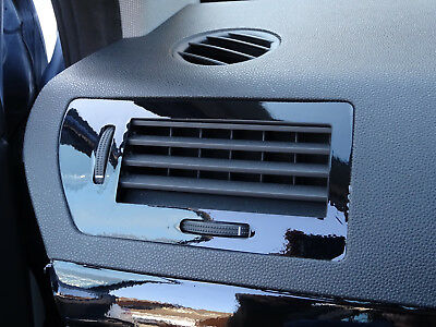 ASTRA H Mk5 VXR Black Gloss vinyl Effect air vents trims