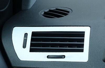 ASTRA H Mk5 VXR Brushed Aluminium  Effect air vents trims