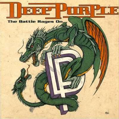 Deep Purple The Battle Rages On Vinile Lp 180 Grammi Nuovo Sigillato