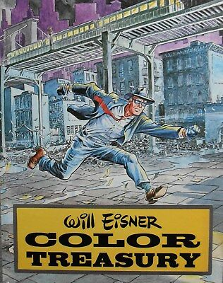 RARE SPIRIT 'WILL EISNER COLOR TREASURY' KITCHEN SINK PRESS 1st ED. H/B 1981