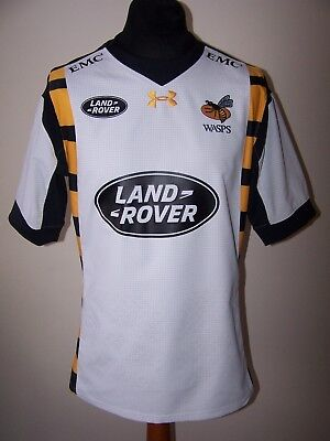 Under Armour London Wasps 2015 Fited Alternative Rugby Union Shirt (XL) jersey