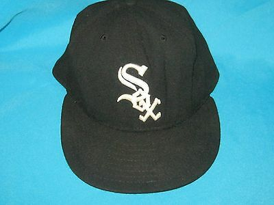 096a2380005 Mlb Chicago White Sox Fitted On-Field Cap Hat New Era 5950 59 Fifty Size 1  of 7Only ...