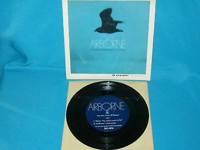 The New Theme Music Of Eastern Airlines Airborne 33 1/3 Rpm Promo Vinyl Record