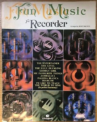FUN MUSIC FOR RECORDER [and piano] | BERT BREWIS | PB