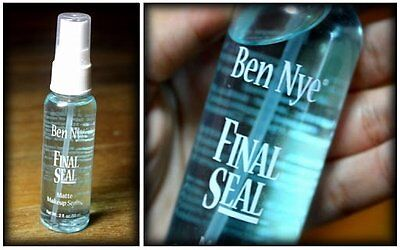 Ben Nye Final Seal Matte Spray Makeup Sealer 2 oz