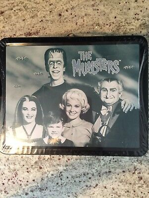 Munsters Limited Edition Metal Lunch Box, Sealed with original candies/cookies